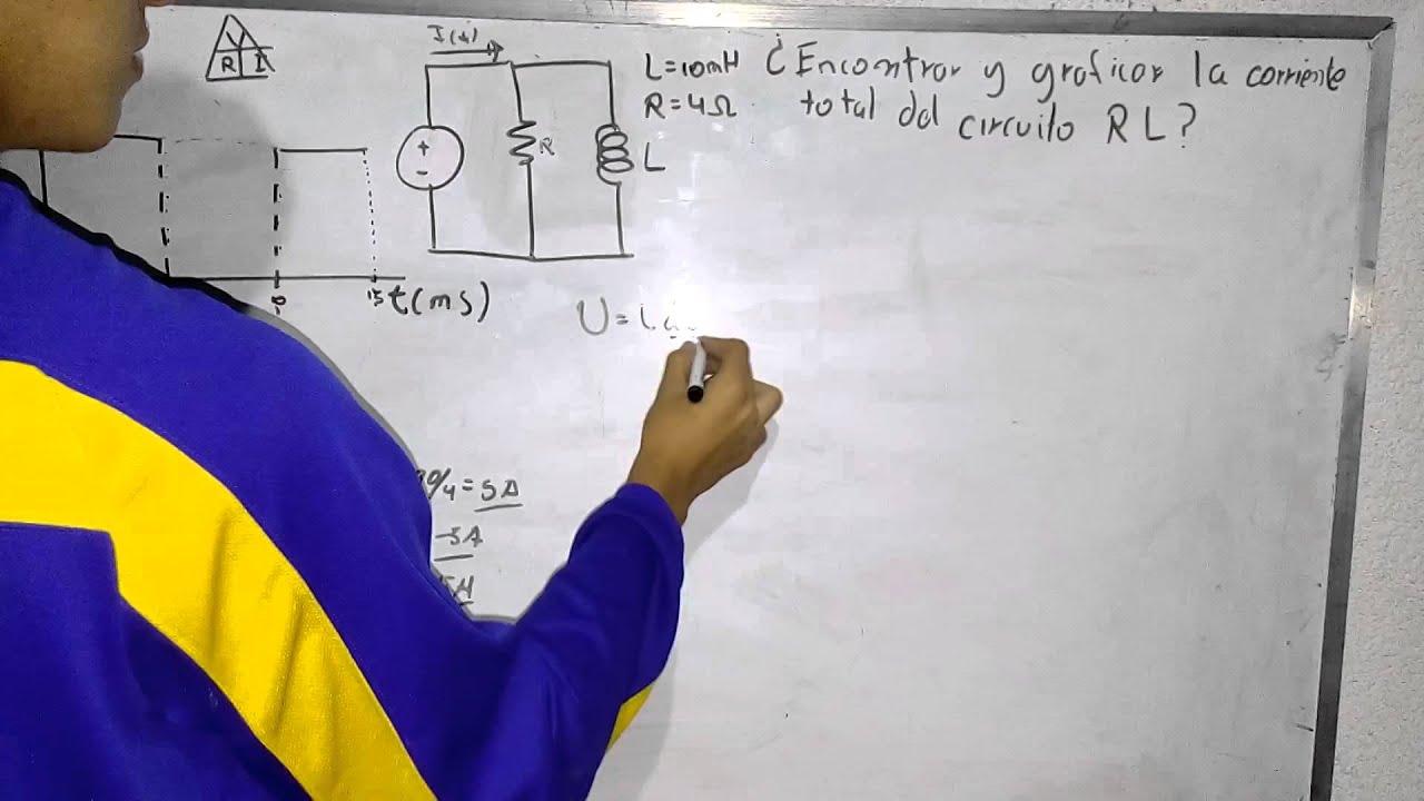 Circuito Rl : Aplicación sistemas ecuaciones diferenciales circuito rlc