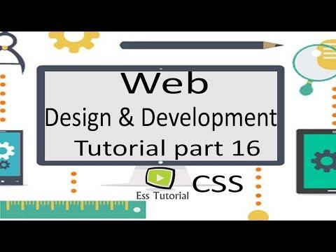 Web design and development Bangla tutorial part 16, inline CSS, CSS bangla tutorial-1,ess tutorial thumbnail