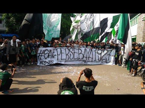 Aksi BCS Boikot Laga PERSITA VS PSS Part.2