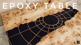 EPOXY RIVER TABLE  without slabs . СТОЛ  ИЗ ЭПОКСИДНОЙ СМОЛЫ.