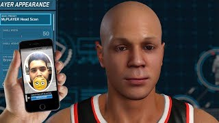 THIS FACE SCAN NEEDS HELP - NBA 2K18 My Career Character FAIL