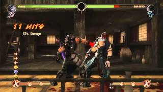 Mortal Kombat 9 - Kabal обучение + комбо