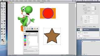 Acorn 4 Tutorial (1 of 4): Images, Select Tools, and Shape Tools