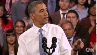 歐巴馬回應現場抗議者 經典!必看! thumbnail