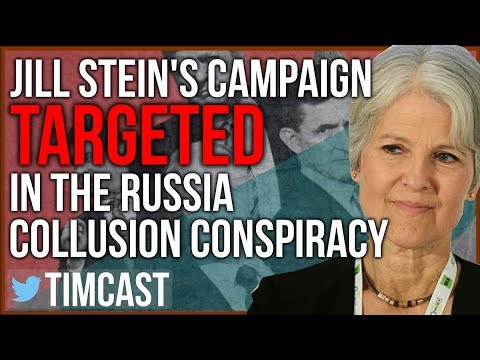 DID FEMINIST JILL STEIN COLLUDE WITH RUSSIA TO GET TRUMP ELECTED? SOME PEOPLE THINK SO