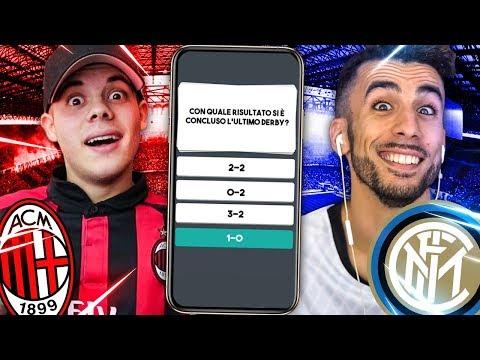 QUANTE NE SAI su INTER e MILAN? Quiz Derby INTER MILAN | w/Ohm