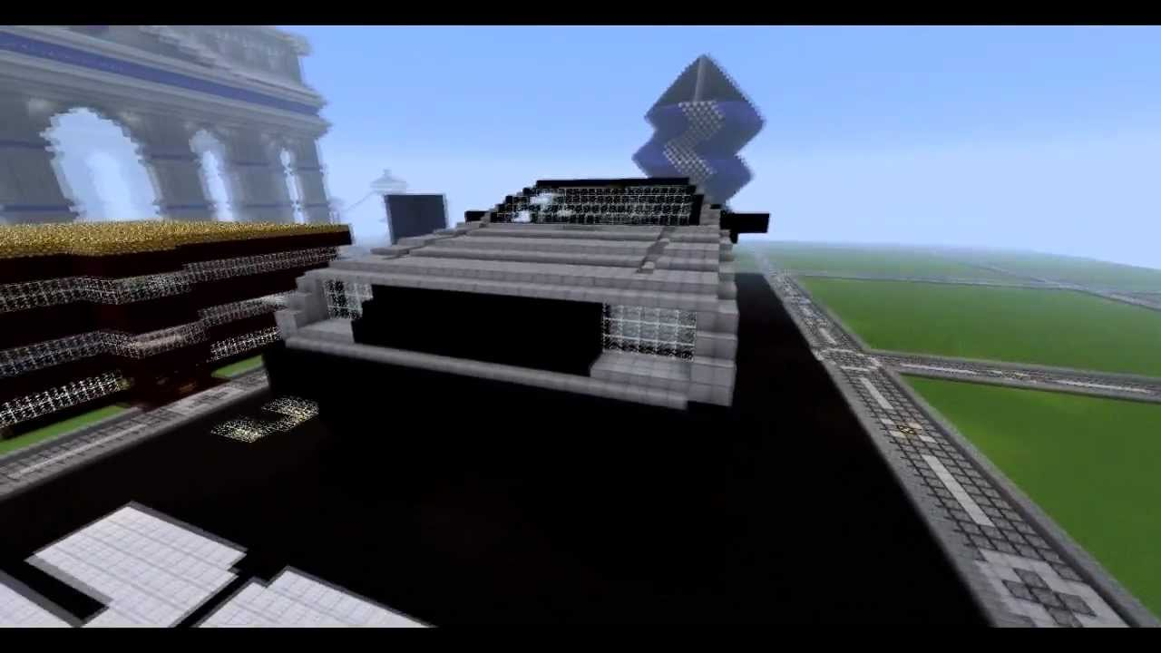 How To Build The Delorean Time Machine In Minecraft