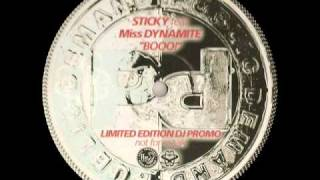 Booo! - Sticky feat Miss Dynamite - FULL VERSION