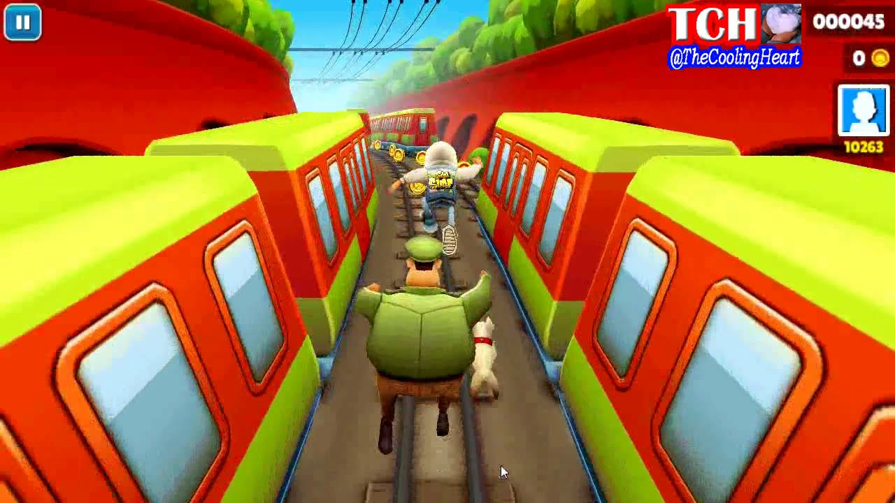 Permainan Game Subway Surfers Gameplay On Pc Hd Youtube