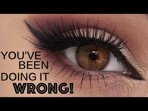 9bf47d0a15c Applying False Lashes UNDERNEATH Your Own Top Eye Lashes | Best Beauty  Tip/Hack Ever!