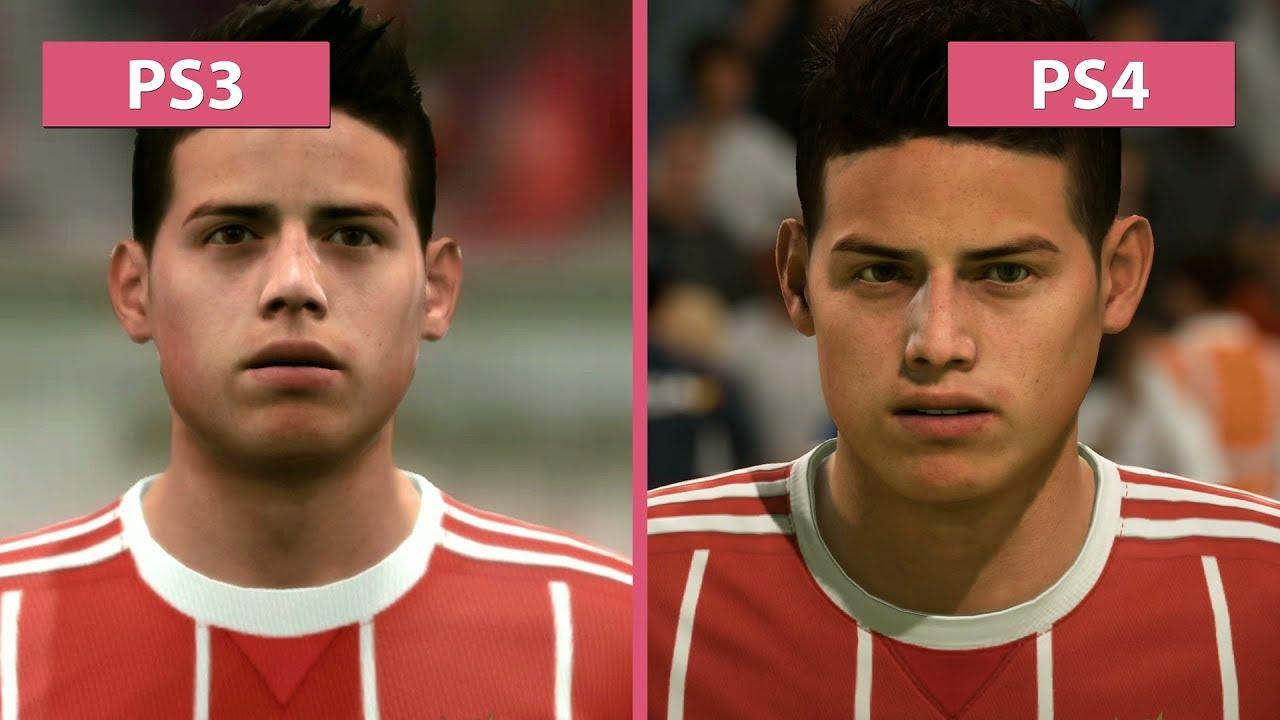 Fifa  Ps Vs Ps Graphics Comparison