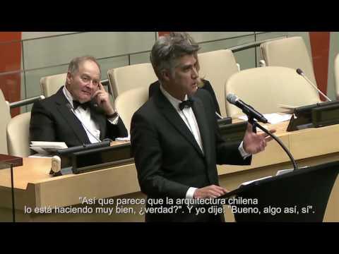 Discurso de Alejando Aravena - Ceremonia Premio Pritzker 2016