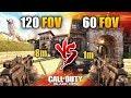 BLACK OPS 4 HACK? 🔴 60 FOV vs 120 FOV CHALLENGE! 😵