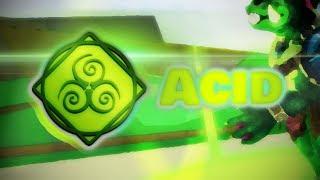 Acid showcase | Roblox Elemental Battlegrounds