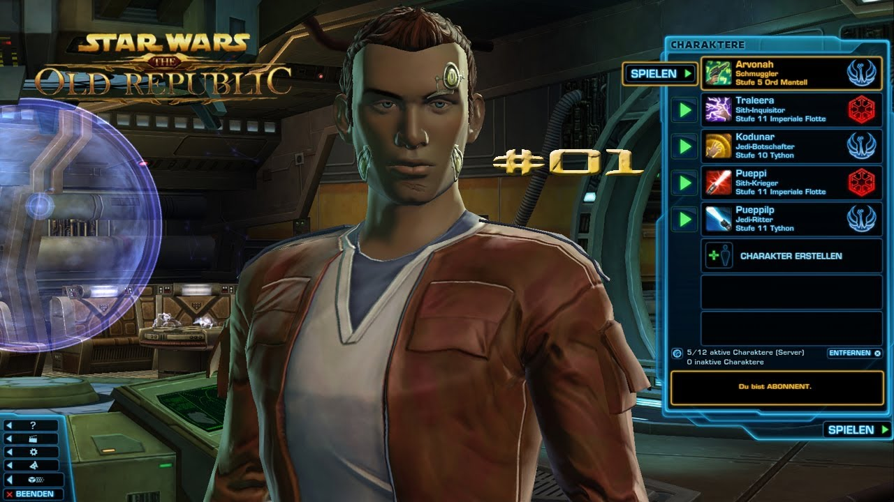 Let's Play Star Wars The Old Republic #01 [Deutsch] [HD] - Schmuggler - YouTube
