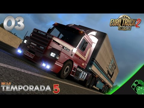 Euro Truck 2 - T5E034 - Scania 143M | Gameplay Español