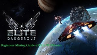 Elite dangerous 3 3 mining guide