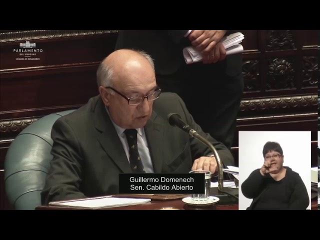 Senador Guillermo Domenech Sesion Extraordinaria 30 09 2020 Youtube