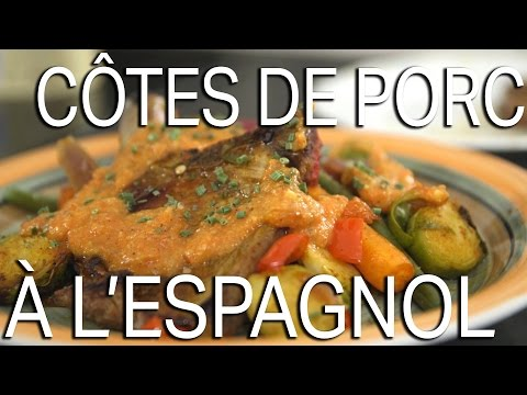 recette-côtes-de-porc-à-l'espagnol-//-la-cuisine-de-tryphon-&-simon