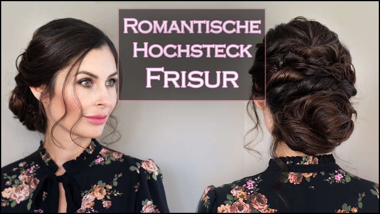 Romantische Hochsteckfrisur Fur Lange Haare