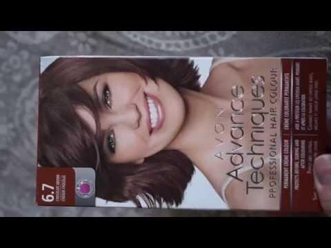 Краска для волос Avon 6.7 шоколадный
