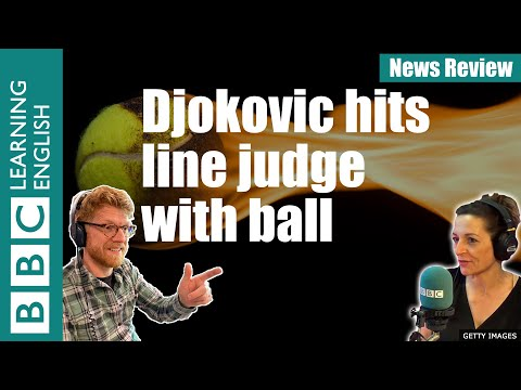 Djokovic hits line