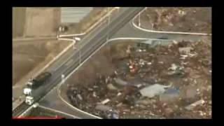 Tsunami hits Japan after massive earthquake 11.03.2011