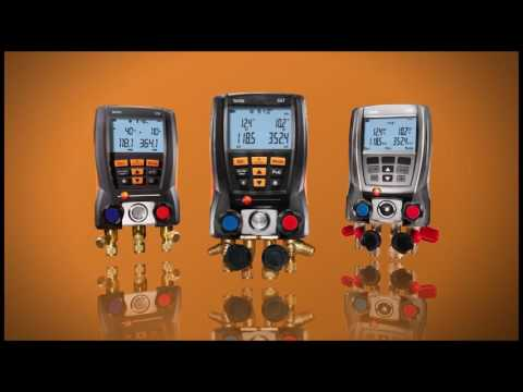 Testo Digital Manifold Overview