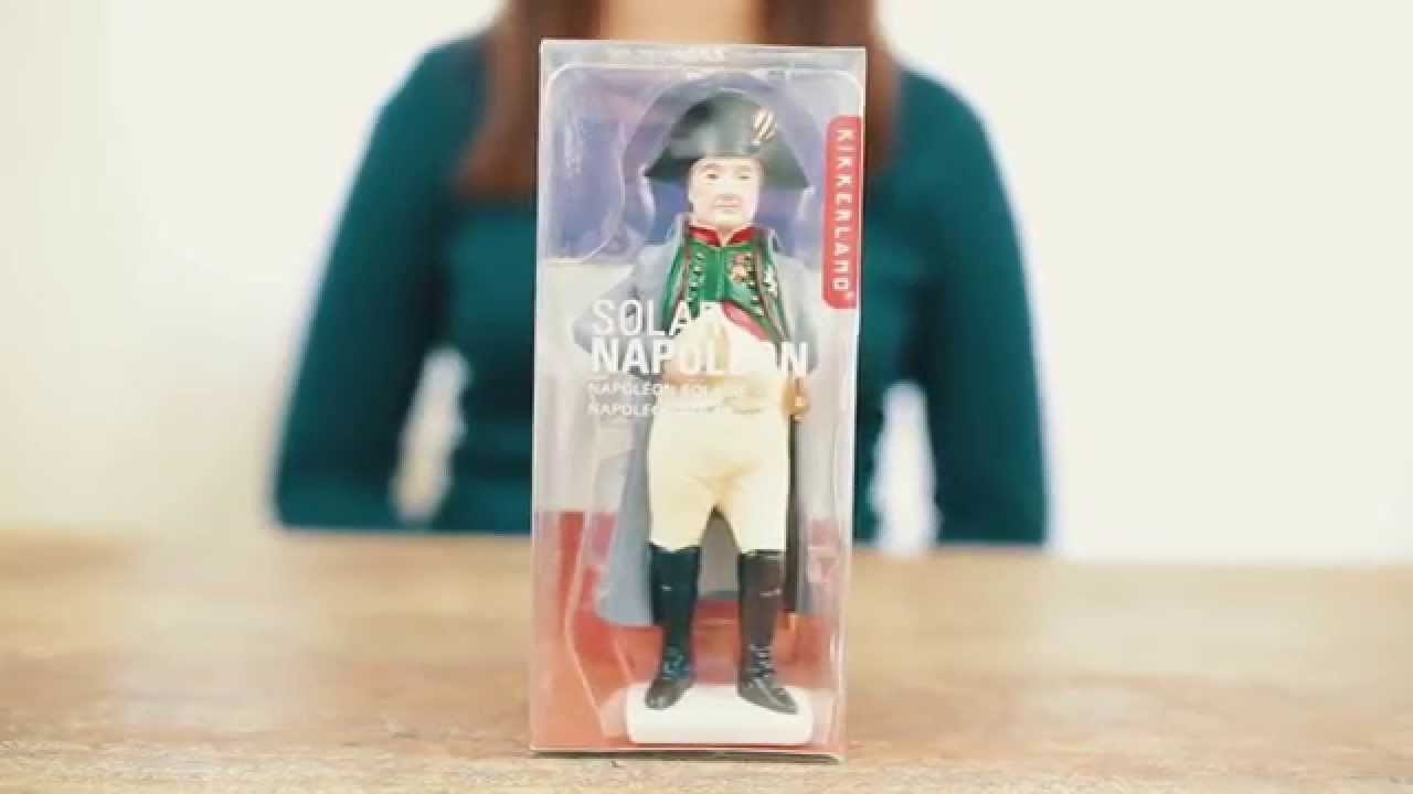 KIKKERLAND Solar Napoleon Figur Dekoration Deko