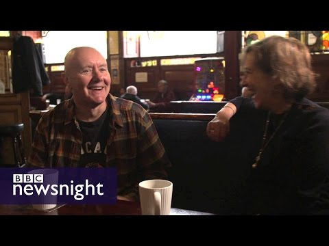 T2 Trainspotting: Kirsty Wark meets Irvine Welsh - BBC Newsnight