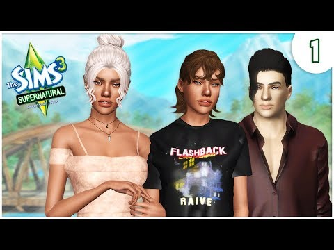 ON THE RUN 😰 | PT.1 | THE SIMS 3 SUPERNATURAL