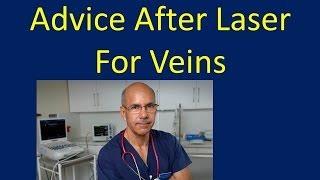 Advice After Varicose Vein Treatment Evlt