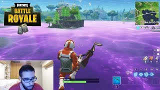 I SEE BALSA BUTTON TRANSFORMED BY CUBE FOR THE FIRST TIME - FORTNITE