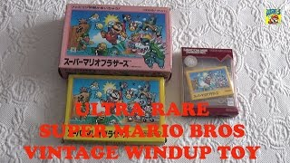 Super Mario Bros. Ultra Rare Vintage Wind-up Bowser Toy Merchandising Japan