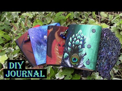 How To Create A Book Of Shadows | DIY Journal | Witchy Crafting