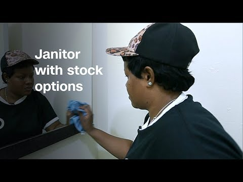 I'm a janitor getting stock options