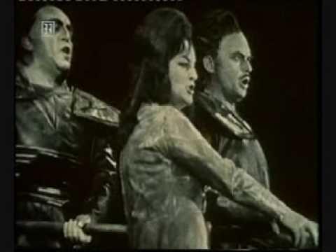 Rache-Terzett - Schnipsel aus Götterdämmerung - Bayreuth 1965