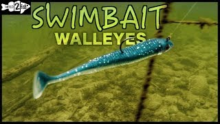2 Ways to Target Walleyes With Paddle Tail Swimbaits