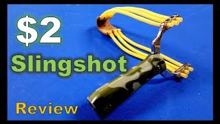 Random Reviews Ep. 50: $2 Ebay High Power Slingshot