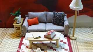 Unboxing: Miniature Sofa & Furniture For Dollhouse