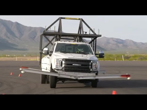 2017 Ford F Series Super Duty Roll Over Crash Testing
