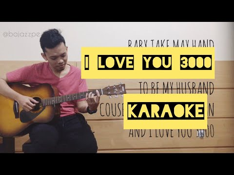 i-love-you-3000---stephanie-poetri-karaoke-(acoustic-guitar-+-lirik)