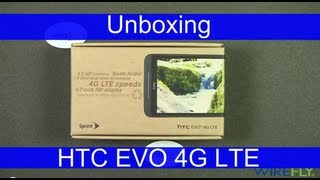 HTC EVO 4G LTE for Sprint Smartphone Unboxing Review