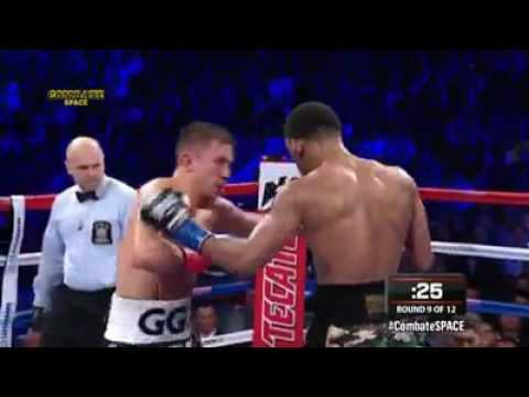GENNADY GOLOVKIN VS DANIEL JACOBS  (highlights)