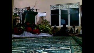 kata sambutan dari Panitia Maulid nabi SAW Masjid Al Ikhlas