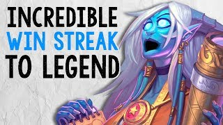 I NEVER LOST A SINGLE GAME! Tempo Mage OP OP | The Boomsday Project | Hearthstone