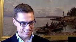 Alexander Stubb kertoo Kokoomuksesta ja ajatuksistaan