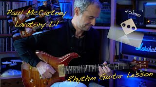 Lavatory Lil (Paul McCartney) - Rhythm-Guitar - Lesson / Tutorial (New Album: McCartney III)