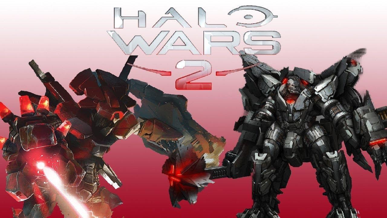 Decimus Vs Hunter Captain Halo Wars 2 Hero Battle 7 YouTube