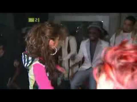Cheryl Tweedy Cole Filming Heartbreaker